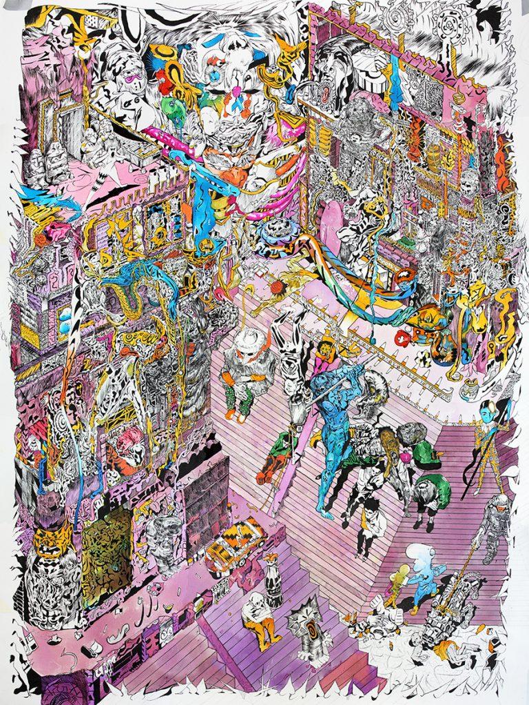 collection-croisee-apolo-cacho-una-tenochtitlán-de-caricatura